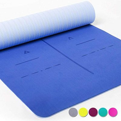 Heathyoga Limited TIME Deal Eco Friendly Non Slip Yoga Mat: