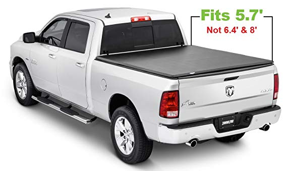 Tonno Pro Tonno Fold 42-201 TRI-FOLD Truck Bed Tonneau Cover: - Truck Bed Covers