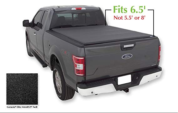 Lund 96873 Genesis Elite Roll Up Truck Bed Tonneau Cover: