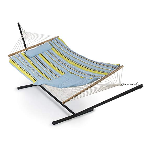 Belleze 12 ft Rope Hammock Combo with Stand: