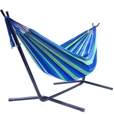 Sorbus Double Hammock with Steel Stand: