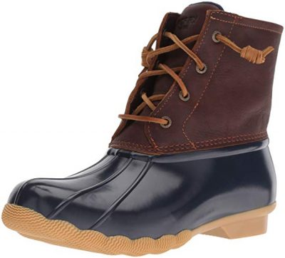 Sperry Top-Sider Women's Saltwater Rope Emboss Neoprene Rain Boot: