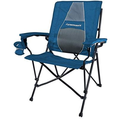 STRONGBACK Elite Folding Camping Chair with Lumbar Support: