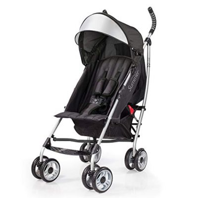 Summer Infant 3D Lite Convenience Stroller – Black: