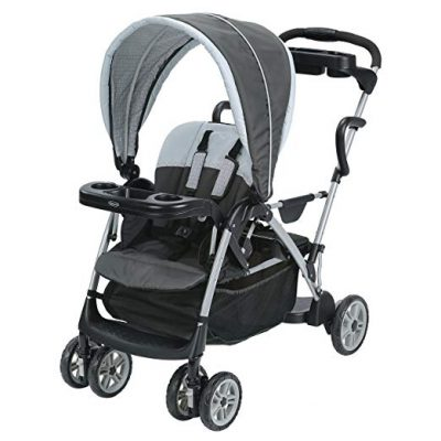 Graco Roomfor2 Click Connect Stand and Ride Stroller, Gotham: