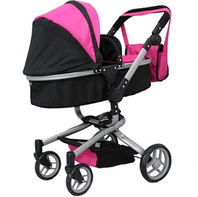 Mommy & me 2 in 1 Deluxe doll stroller: