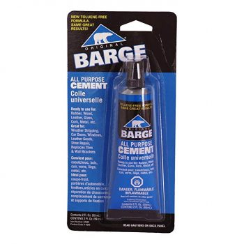 Barge All-Purpose TF Cement Rubber, leather, Wood, Glass, Metal Glue 2 oz: