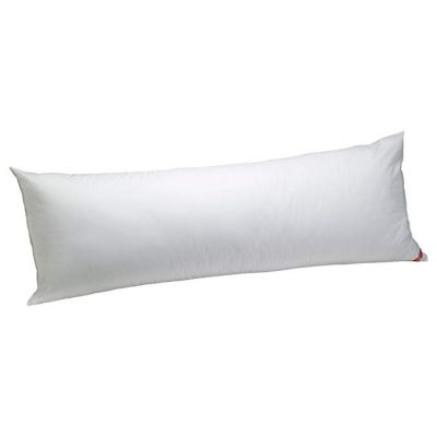 Aller-Ease Cotton Hypoallergenic Allergy Protection Body Pillow: