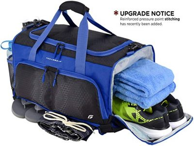 """Ultimate Gym Bag: The Crowdsource Designed 20"""" Duffel by FocusGear:"""