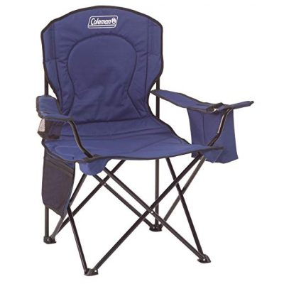 Coleman Oversized Quad Chair with Cooler: