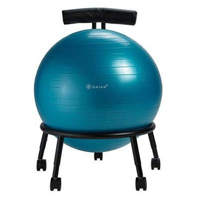 Adjustable Custom-Fit Balance Ball Chair from Gaiam:
