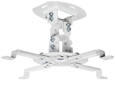 VIVO Universal Adjustable Ceiling Projector (White):