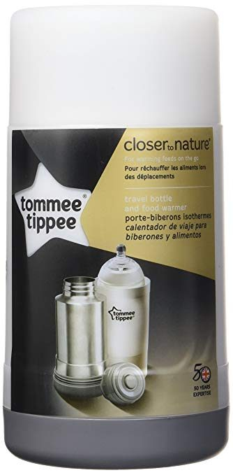 Tommee Tippee Closer to Nature Portable Travel Food and Baby Bottle Warmer: