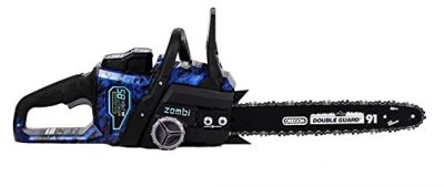 Zombi ZCS5817 16-Inch 58-Volt 4Ah Lithium Cordless Electric Chainsaw: