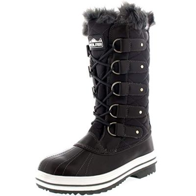 Polar Women's Nylon Tall Winter Snow Boot: