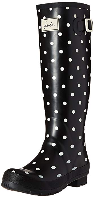 Joules Women's Welly Print Rain Boot: