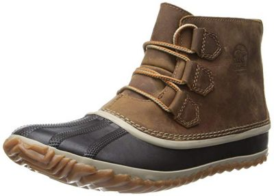 Sorel Women's Out N about Leather Snow Boot:
