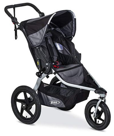 3. BOB Revolution Flex Jogging Stroller, Black: