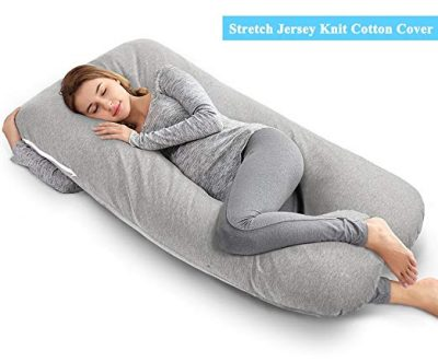 AngQi 55-inch Full Body Pregnancy Pillow: