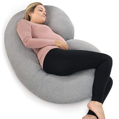 PharMeDoc Pregnancy Pillow with Jersey Cover: