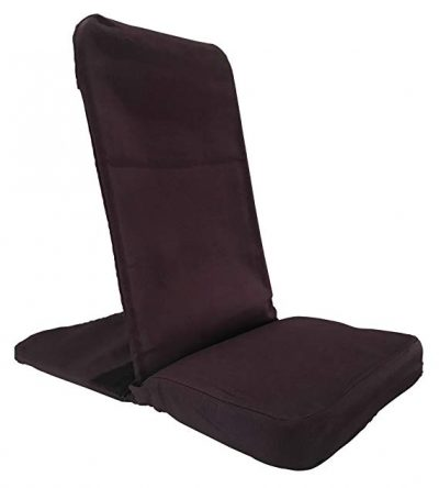 Original BackJack Floor Chair – Portable - XL Size (Purple):
