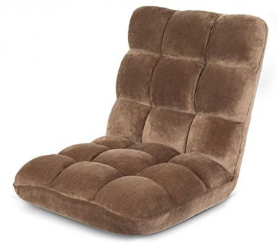 BirdRock Home Adjustable 14-Position Memory Foam Floor Chair: