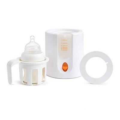 Munchkin High Speed Bottle Warmer, Orange/White: