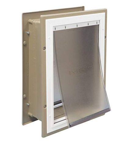 PetSafe Wall Entry Pet Door with Telescoping Tunnel: