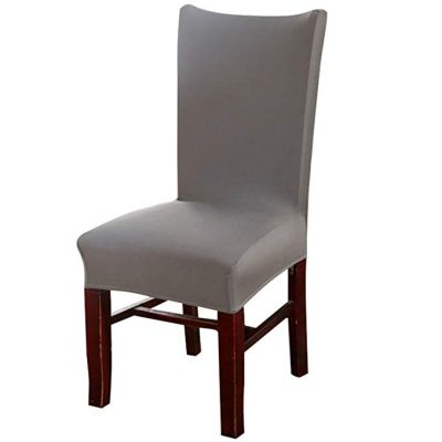 Knit Spandex Fabric Stretch Dining Room Chair Slipcovers: