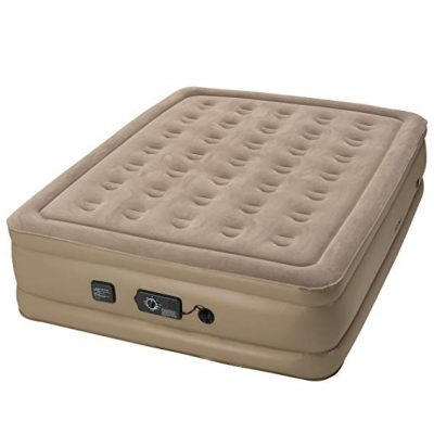 Insta-Bed Raised Air Mattress with Never Flat Pump: