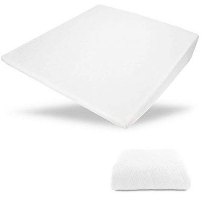 "Acid Reflux Wedge Pillow - USA Made with Memory Foam Overlay and Removable Microfiber Cover""BIG"" by Medslant:"