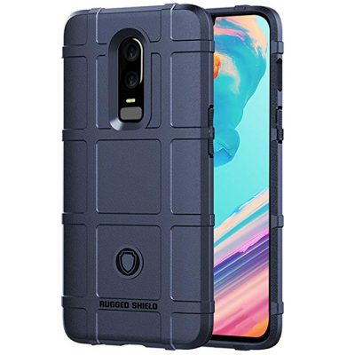 "Oneplus 6 Case, Dretal Single Layer Rugged Heavy Duty Armor Shock Proof Case Cover For Oneplus 6 (6.3"") (Navy) by Dretal:"