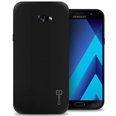 Galaxy A7 Case (2017 Version), CoverON [FlexGuard Series] Slim Soft Flexible TPU Rubber Phone Cover Case: