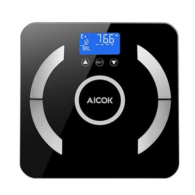 Aicok Digital Body Fat Weight Scale, Accurate Health Metrics: