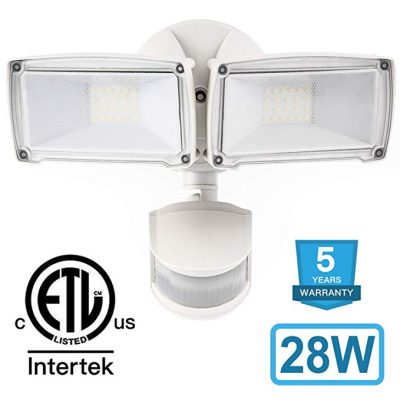 Amico 28W LED Security Lights Motion Outdoor:
