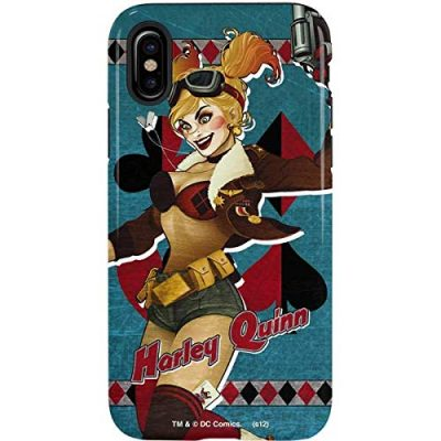 Harley Quinn iPhone Xs Max Case - Warner Bros | Skinit Pro Case, Scratch Resistant iPhone Xs Max Cover: