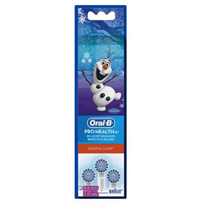 Oral-B Power Toothbrush Replacement Toothbrush Heads featuring Disney's Frozen, Extra Soft, 3ct: