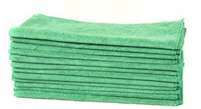 Chemical Guys MIC_MGREEN_12 Workhorse Professional Grade Microfiber Towel: