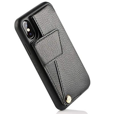 """iPhone Xs MAX Case, iPhone Xs MAX Wallet Case, ZVEdeng PU Leather XS MAX Wallet Case Card Holder Apple iPhone Xs MAX 6.5"""" – Black by ZVE:"""