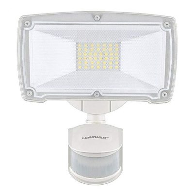 3. LEPOWER 2500LM Outdoor Motion Sensor Lights: