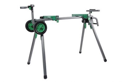 Hitachi UU240F Heavy-Duty Portable Miter Saw Stand: