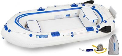 Sea Eagle SE9 Inflatable Motormount Boat - Fisherman's Dream Package: