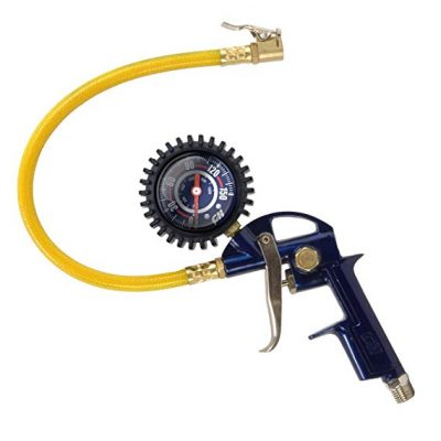 3. Tire Inflator, 3-in-1 Inflation Gun, with Gun, Locking Chuck and 2-inch Gauge by Campbell Housefed: