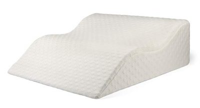 AERIS Large Memory Foam Bed Wedge Pillow for Acid Reflux 25 X 25 X 8.6 – Inch:
