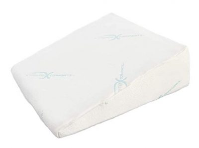 "3. Xtreme Comforts 7"" Memory Foam Bed Wedge Pillow:"