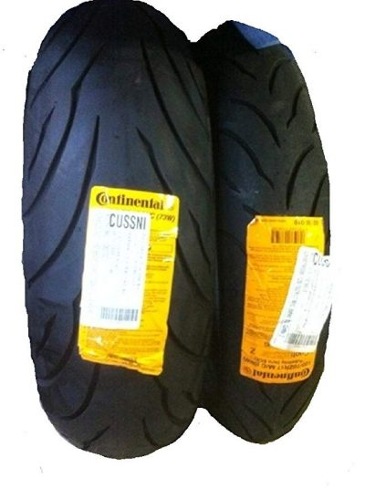 CONTINENTAL MOTION Tire Set 120/70zr17 Front & 180/55zr17 Rear 180 55 17 120 70 17 2 Tire Set: