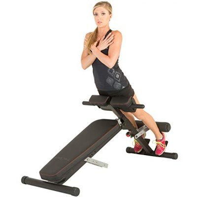 3. Fitness Reality X-Class Light Commercial Multi-Workout Abdominal/Hyper Back Extension Bench: