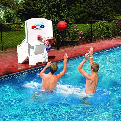 12. Cool Jam Pro Pool Basketball Goal Hoop Net by Swimline: