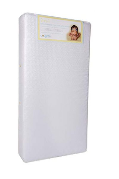 3. Colgate 2-N-1 Orthopedic Crib and Toddler Mattress: