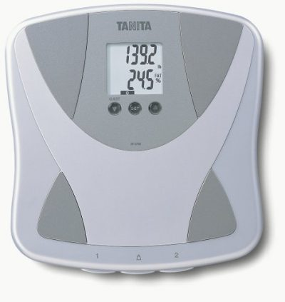 3. Tanita BF679W Duo Scale Plus Body Fat Monitor with Body Water:
